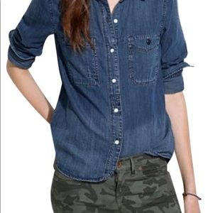 Madewell Denim Shirt Button-down Top